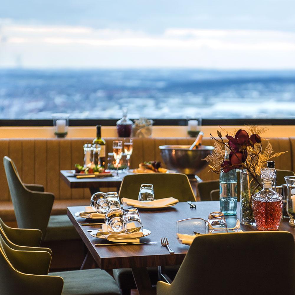 restaurant bilder panorama restaurant stuttgart fellbach. Black Bedroom Furniture Sets. Home Design Ideas